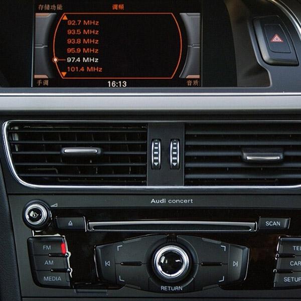 Bluetooth streaming + AUX interface voor Audi Concert en Symphony non MMI radio, Spotify, Deezer