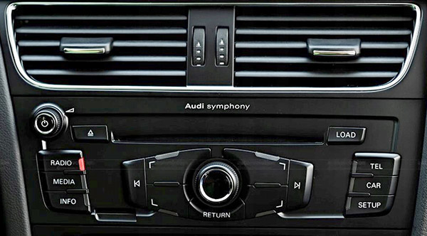 DAB / DAB+ interface adapter voor Audi Concert / Symphony audiosysteem