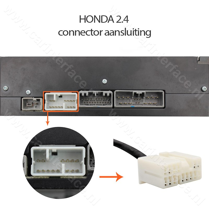 Bluetooth streaming interface / audio adapter / module voor Honda autoradio's