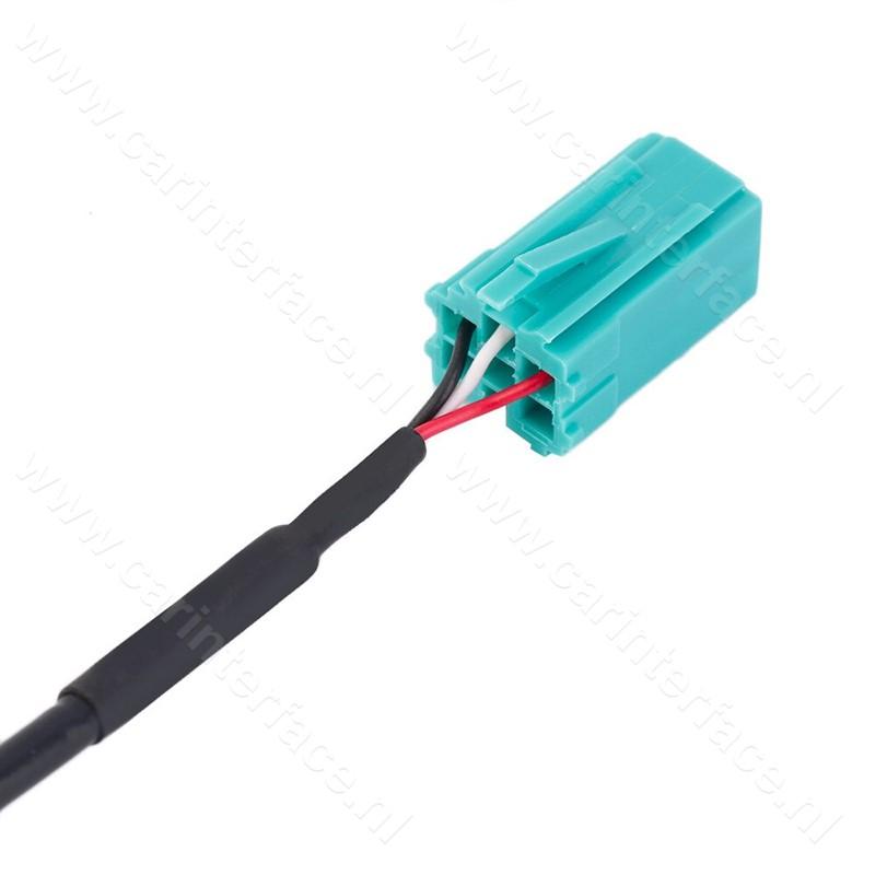 Bluetooth streaming module / adapter voor Renault autoradio's met een 6-pins Mini-ISO aansluiting
