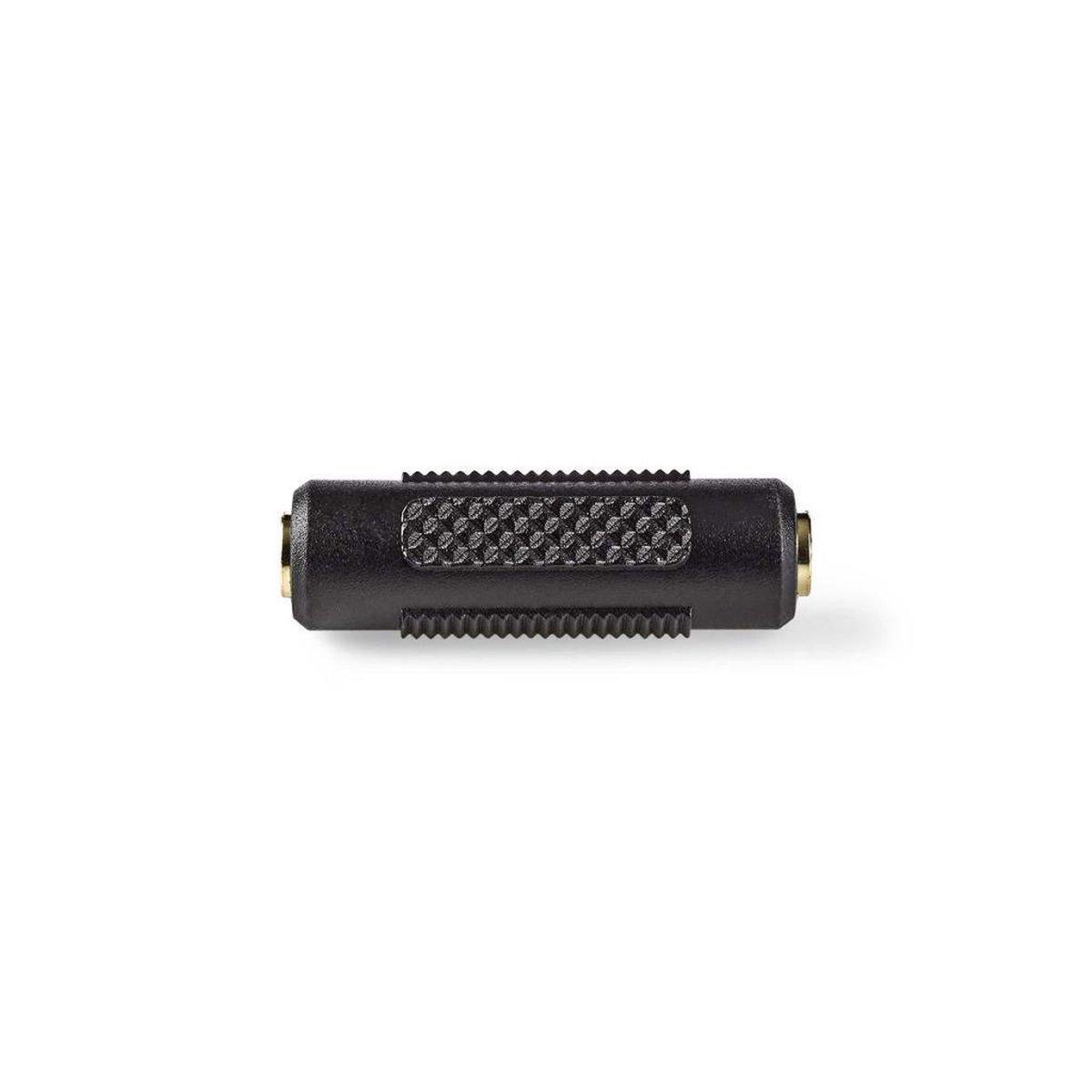 Koppelstuk 3,5mm Jack (v) - 3,5mm Jack (v) stereo