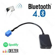Bluetooth streaming interface / audio adapter voor RD3 Citroën autoradio's, 8-pin aansluiting