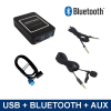 Bluetooth streamen + carkit / USB / AUX interface / audio adapter voor Alfa Romeo autoradio's