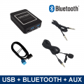 Bluetooth / USB / AUX interface / audio adapter voor Renault autoradio's (MN-BUA-REN8)