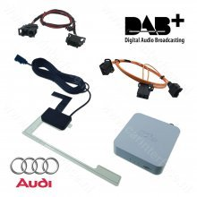 DAB / DAB+ radio, interface / adapter voor Audi MMI 2G Basic, High, 3G Basic, 3G en 3G+