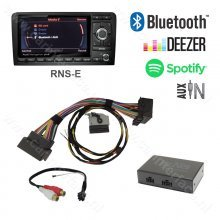 Bluetooth streamen + AUX IN interface / audio adapter voor Audi RNS-E, CAN BUS, Spotify, Deezer