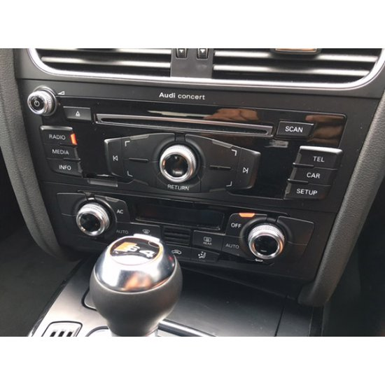 Bluetooth streaming + AUX interface voor Audi Concert en Symphony non MMI radio, Spotify, Deezer