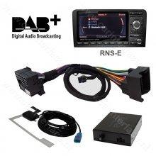 DAB / DAB+ interface adapter voor RNS-E audiosysteem van Audi,  Seat Exeo, Lamborghini Gallardo