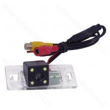 Achteruitrijcamera / Backup Camera met 4 LED lampen voor Audi A3, A4L, A5, TT, Q3 en Q5