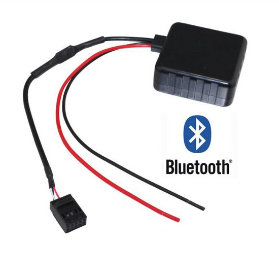 Bluetooth naar AUX interface / audio adapter voor BMW E46 met Business CD / Professional CD* autoradio (10-pin)