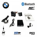 Bluetooth interface / adapter met MP3 USB + AUX ingang voor 17-pin BMW autoradio's