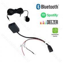 Bluetooth streamen + handsfree carkit interface / adapter voor BMW E46 met Business CD autoradio (10-pin)