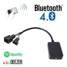 Bluetooth streaming interface / audio adapter voor BMW autoradio's, 3+6 pin
