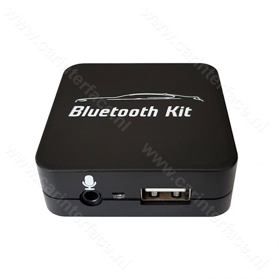 Bluetooth streamen + handsfree carkit interface / audio adapter voor Peugeot autoradio's, 12-pin