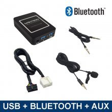 Bluetooth / USB / AUX interface / audio adapter voor Honda Goldwing GL1800 (MN-BUA-HON2F)