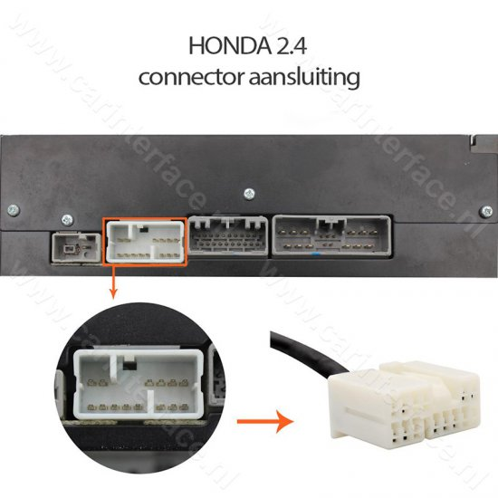 Yatour Bluetooth interface / audio adapter met AUX ingang voor Honda autoradio's (YT-BTA-HON2)