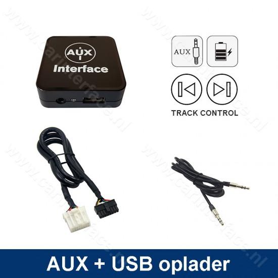 AUX interface / audio adapter (3.5mm jack) voor Mazda autoradio's