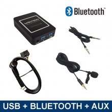 Bluetooth streamen + carkit / USB / AUX interface / audio adapter voor Mitsubishi autoradio's