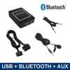 Bluetooth streamen + handsfree carkit + USB + AUX interface / adapter voor Subaru autoradio's