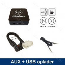 AUX interface / audio adapter (3.5mm jack) voor Toyota 5+7 pin autoradio's (MN-601-TOY1)
