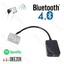 Bluetooth streaming interface / audio adapter voor LEXUS 5+7 pin autoradio's