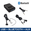 Bluetooth / USB / AUX interface / audio adapter voor Audi autoradio's (12-pin)