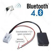 Bluetooth naar AUX interface / adapter voor BMW E60 E61 E62 E63 E64 E66 E81 E82 E70 E90 vanaf bj 2004 met MASK / CCC
