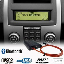 BLUETOOTH + USB + SD + AUX IN interface / adapter voor Volvo C30, C70, S40, V50, S80, XC70, XC90 (MOST)