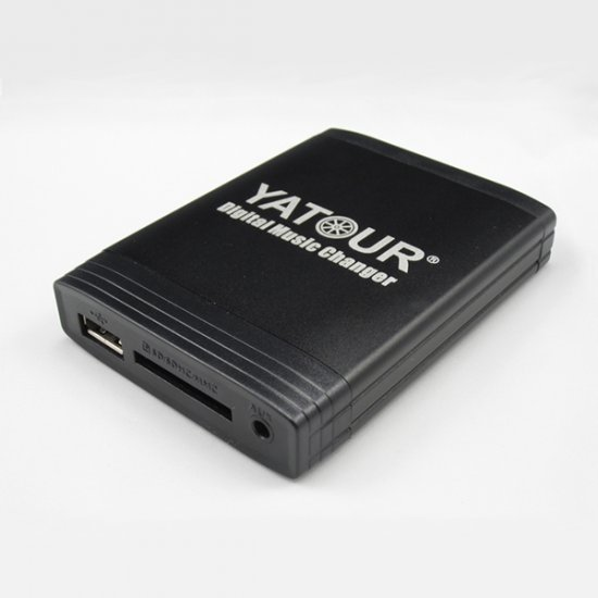 Yatour USB, SD, AUX ingang, MP3 interface / audio adapter voor FIAT autoradio's
