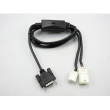 Toyota 6+6 pin Switch Y-kabel (TOY2Y-CDC) NEW-VGA