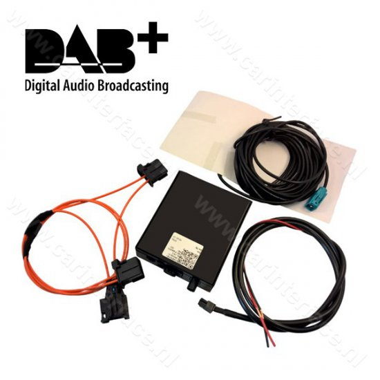 DAB / DAB+ interface adapter voor Audi met MMI 3G / 3G+