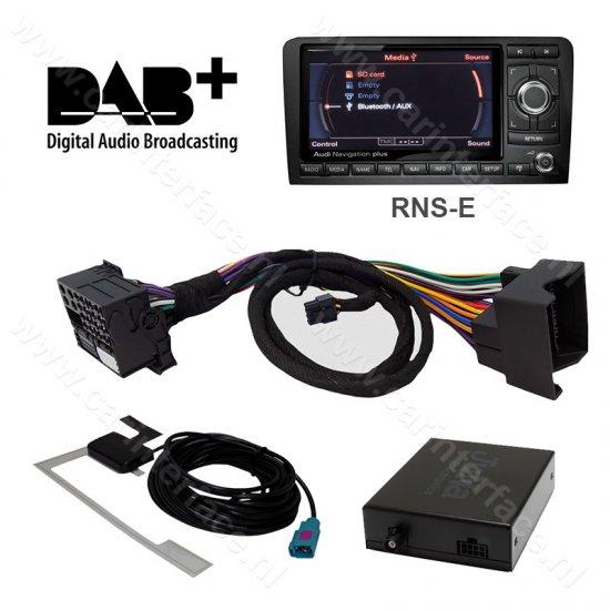 dab dab interface adapter voor rns e audiosysteem van audi seat exeo lamborghini gallardo. Black Bedroom Furniture Sets. Home Design Ideas