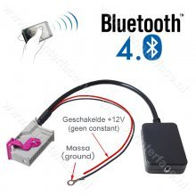 Bluetooth naar AUX streaming adapter voor Audi RNS-E Navigation Plus, 32-pin