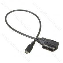 Audi AMI, VW / Volkswagen MDI MicroUSB adapter / kabel