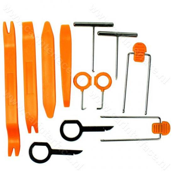 Deurpaneel, dashboard, portier, interieur, bekleding, sierlijst demontage gereedschap (DRS2)