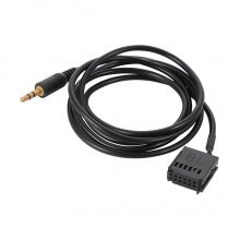 3.5mm AUX kabel / audio adapter voor o.a. Ford 5000 C, 6000 CD, 6006 CDC radio's, Mondeo, Focus, C-Max, Fiesta, Galaxy, Transit
