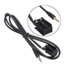 3.5mm AUX kabel / audio adapter voor Ford 6000CD radio's, Focus, C-Max, Mondeo, S-Max, Transit, Fiesta, Fusion
