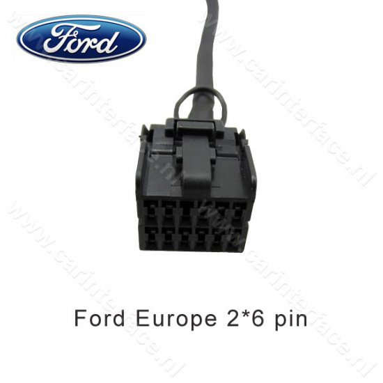 Yatour USB, SD, AUX ingang, MP3 interface / audio adapter voor Ford autoradio's (YTM06-FRD1)