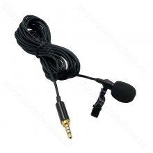 3.5mm 3-polig microfoon met 2 meter kabel voor Mantson