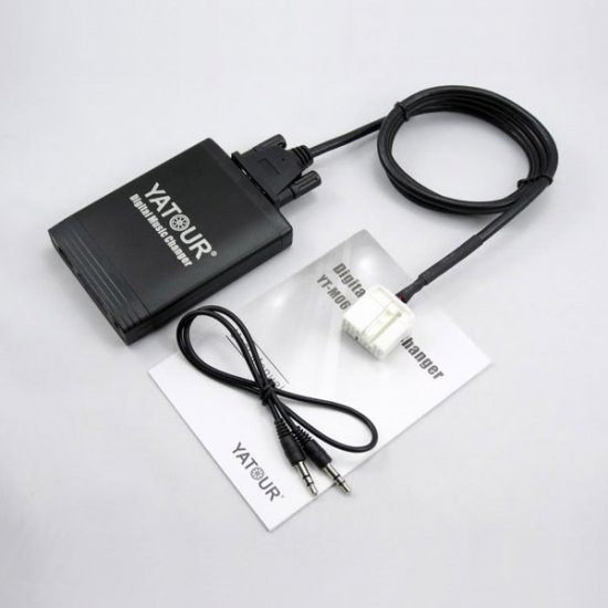Yatour USB, SD, AUX ingang, MP3 interface / audio adapter voor Honda autoradio's (YTM06-HON2)