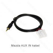 16-pin AUX IN kabel voor Mazda autoradio's