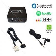 Bluetooth streamen + handsfree carkit interface / audio adapter voor Mazda autoradio's