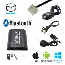 Yatour Bluetooth interface / audio adapter met AUX ingang voor Mazda autoradio's (YT-BTA-MAZ1)