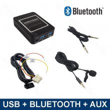 Bluetooth / USB / AUX interface / audio adapter voor Nissan autoradio's (MN-BUA-NIS)