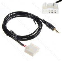 3.5mm AUX kabel voor Camry, Corolla, RAV4, Reiz met een 20-pin connector