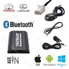 Yatour Bluetooth interface / audio adapter met AUX ingang voor Lexus autoradio's (YT-BTA-TOY2)