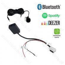12-pin Bluetooth streaming / handsfree carkit adapter voor o.a. MFD3, RCD 210, RCD 310, RCD 510, RNS 310, RNS 510 en RNS-E