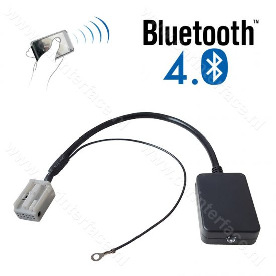 Bluetooth streaming interface / audio adapter voor Audi autoradio's (MN-B-VW12)