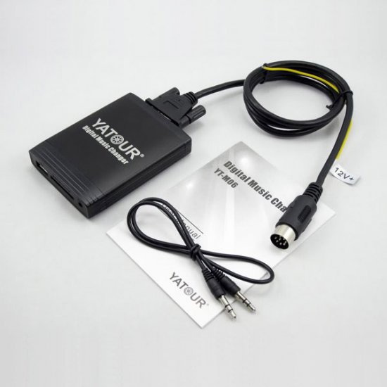 Yatour USB, SD, AUX Ingang, MP3 interface / audio adapter voor Volvo HU autoradio's