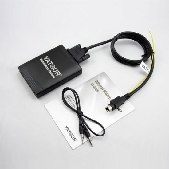 Yatour USB, SD, AUX Ingang, MP3 interface / audio adapter voor Volvo SC autoradio's